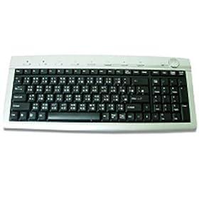 Multimedia Keyboard Silver/blk