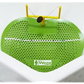 The Weee Urinal Screen Football - Green Set of 2