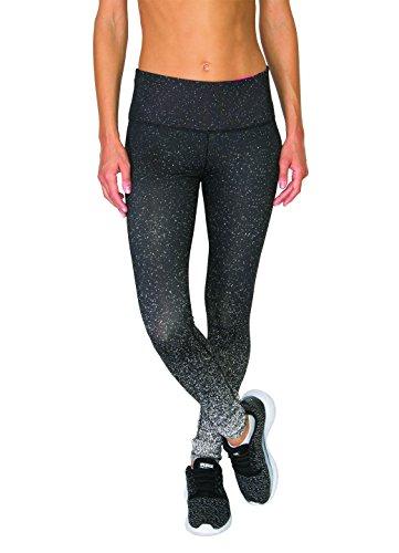 RBX Active Women's Graphic Speckle Dyed Legging Black M