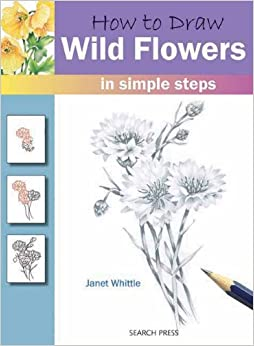 How to Draw Wild Flowers in Simple Steps: Janet Whittle: 9781844485642