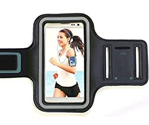 Sport iPhone 7 Armband Case - Protective Gym Running Jogging Sport Armband Case for New iPhone 7 (Black)