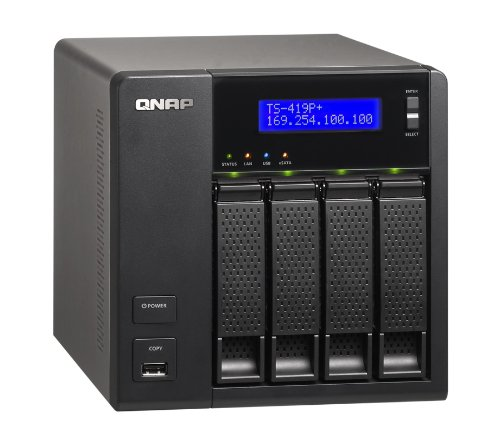 QNAP TS-419P+ 4 Bay All-in-one NAS Server
