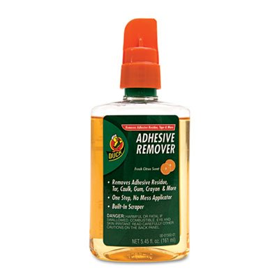 Adhesive Remover, 5.45oz Spray Bottle, Sold as 1 Each (Duck Adhesive Remover compare prices)