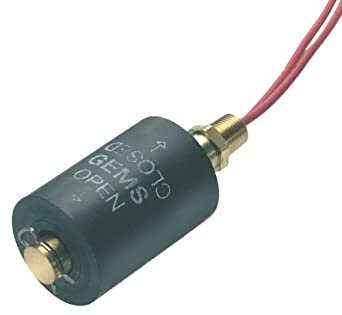 "Gems Sensors 35657 Buna N Float Large Single Point Level Switch with 316 Stainless Steel Stem and Mounting, 1-1/4"" Diameter, 1/8"" NPT Male, 7/8"" Actuation Level, 100VA, SPST/Normally Open"