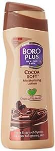 Boroplus Soft Moisturizing Lotion, Cocoa, 100ml with Free Emami Vasocare Herbal Lip Balam, 10g