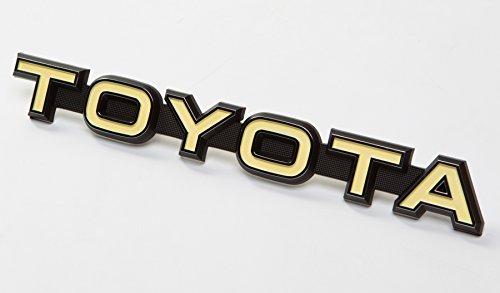 Genuine Toyota Emblem for Custom DIY Satoshi Grille Mod LAND CRUISER (BJ40 & FJ40) 74-79 FJ40 Landcruiser (Custom Toyota Emblem compare prices)