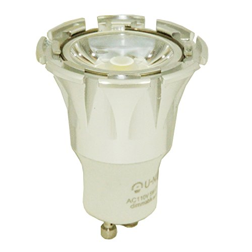 U-Ne Ug 2105G 5-Watt (40-Watt Equivalent) 420 Lumens, Ac Dimmable Solution, Special Look, For Homes, Offices, Hotels And Shops, Etc. Alloy Shell Bulb, Cool White