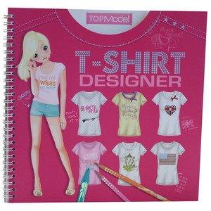 Imagen 1 de Depesche - Top Model - Cuaderno de diseños de camisetas