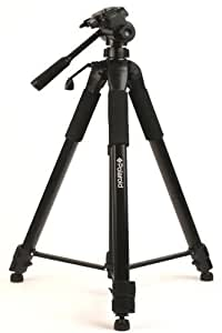 "Polaroid 75"" Photo / Video ProPod Tripod Includes Deluxe Tripod Carrying Case + Additional Quick Release Plate For Digital Cameras & Camcorders"