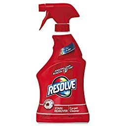 Resolve Carpet Triple Oxi Advanced Carpet Stain Remover,22 Ounce