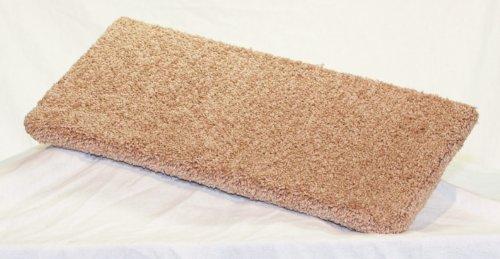 Carpeted Wall Mounted Cat Shelf (Beige, Medium 20