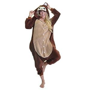 Angelina Unisex Plush Animal Onesies Pajamas #91158 Medium Monkey