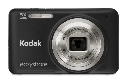 Kodak 1239573 Easyshare M5350 16MP 5X Digital Camera (Black)