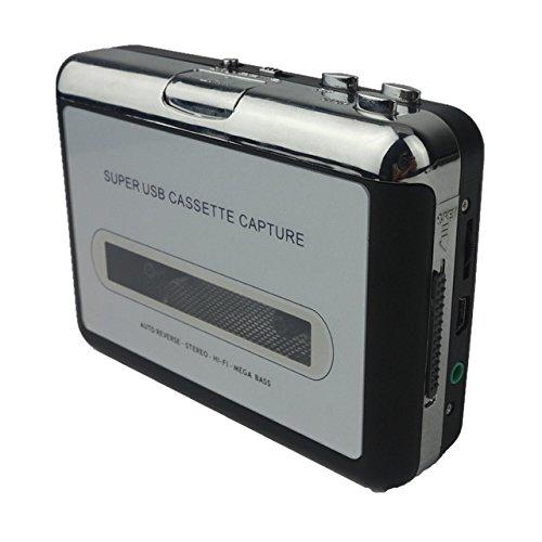 TBI Kassetten-Digitalisierer Cassette Digital Converter USB MP3 CD Konverter Tape