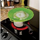 New SSL-12/2365 Spill Stopper Splatter Guard Silicone Pot Pan Lids, 10-Inch