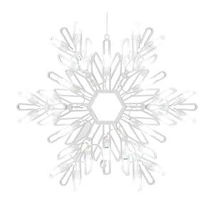 "Celebrations Lighting LED Snowflake Silhouette 15"""