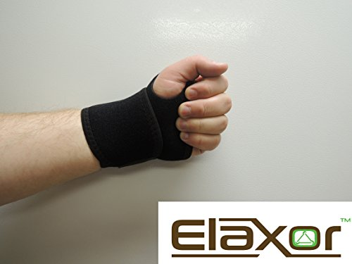 Elaxor-Breathable-Neoprene-Wrist-Wrap-Brace-One-Size-Right-or-Left-WeightliftingCrossfitWorkoutGymPowerliftingBodybuildingCarpal-Tunnel