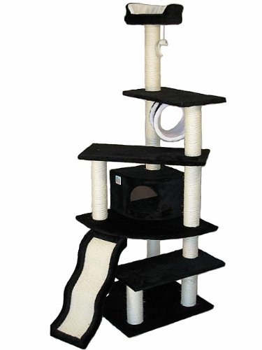 Go Pet Club Cat Tree Black Color