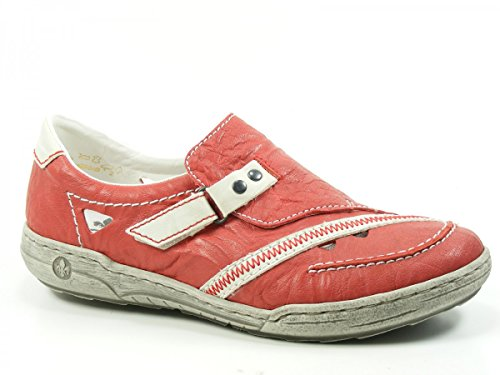 Rieker L3365-33 Sneaker donna, schuhgröße_1:eur 38;Farbe:Rot