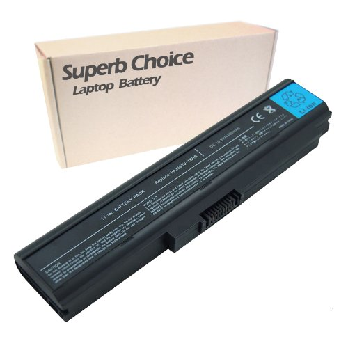 Sensational Choice New Laptop Replacement Battery for TOSHIBA Satellite U300-13U U300-13V U300-149 U300-14B U300-14Z U300-150 U300-151 U300-152 U300-153 U300-154 U300-15P U300-15Q U300-15S U300 Series U300-ST3091 U300-ST3094 U305-S2804 U305-S2806 U305-S28