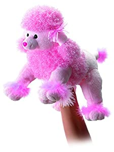 Fancy Pink Poodle Body Puppet 12