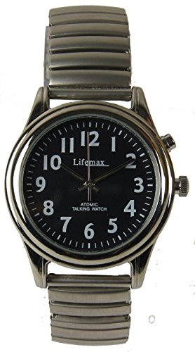 Lifemax Talking Atomic Watch - Expanding Bracelet