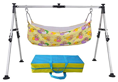 Multipro Super Folding Cloth Cradle Swing Ghodiyu For Infants Portable and Foldable For Travelling