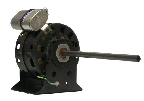 Fasco D1045 5.0-Inch Diameter Psc Motor, 1/30-1/40-1/50 Hp, 115/127 Volts, 1100 Rpm, 3 Speed, .53-.24-.16 Amps, Cw Rotation, Sleeve Bearing