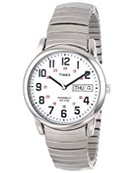 Timex T20461 Reader Silver Tone Expansion