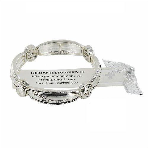 JOA Follow the Footprints Theme Bracelet #034994