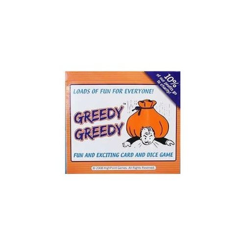 Greedy Greedy: Fun and Exciting Card & Dice Game - 1