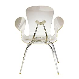 Product Image Acrylic Dining Chair- Clear