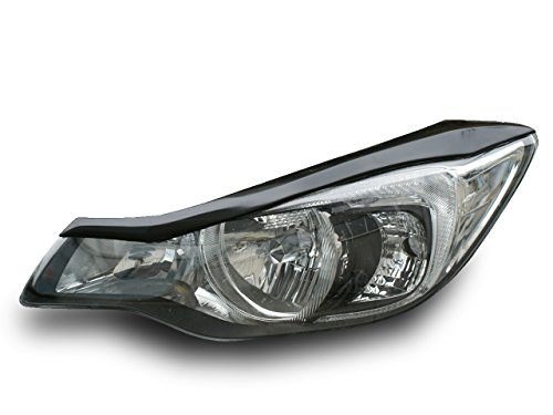 AMS 【日本製】 スバル インプレッサGP/GJ系 2011/11~ XV GP系 2012/10~アイラインガーニッシュ  素地 未塗装品 黒ゲルコート仕上げ 簡単装着[1B06063] 1B06063