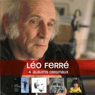 4 Albums Originaux : Léo Ferré