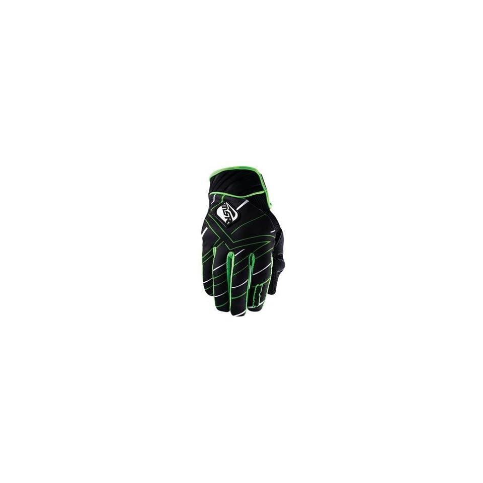MSR Racing Renegade Gloves   Small/Black/Green