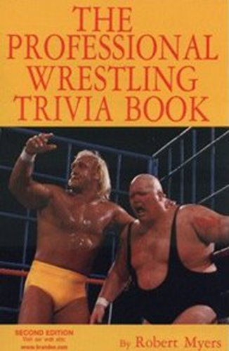 the-professional-wrestling-trivia-book-english-edition