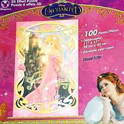 Disney Enchanted 3D Effect Puzzle