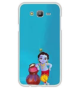 ifasho Designer Phone Back Case Cover Samsung Galaxy J7 J700F (2015) :: Samsung Galaxy J7 Duos (Old Model) :: Samsung Galaxy J7 J700M J700H ( Colorful Pattern Design Yellow Blue Triangle )