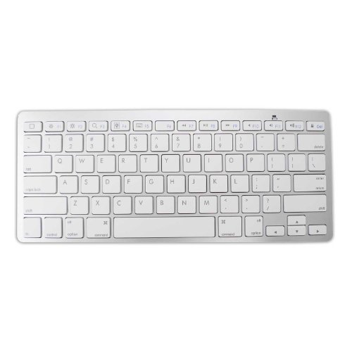 Lb1 High Performance New Portable Ultra-Slim Bluetooth Wireless Keyboard For Apple Macbook Pro 13.3-Inch Laptop Intel Core I5 2.5Ghz, 500 Gb Hard Drive, 8Gb Ddr3 Memory, Dvd Burner (Newest Version) (White)
