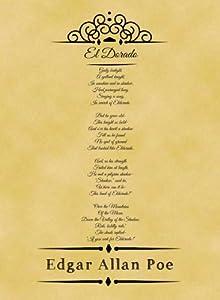 Amazon.com: A4 Size Parchment Poster Classic Poem Edgar ...