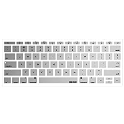iBenzer - Macaron Series Keyboard Cover Silicone Rubber Skin for Macbook Pro 13\