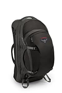 Osprey Men's Waypoint 65 Travel Backpack, Black, Large