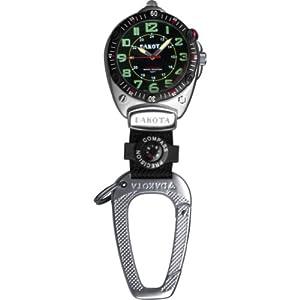 Dakota Watch Company Big Face Clip Watch (Black)