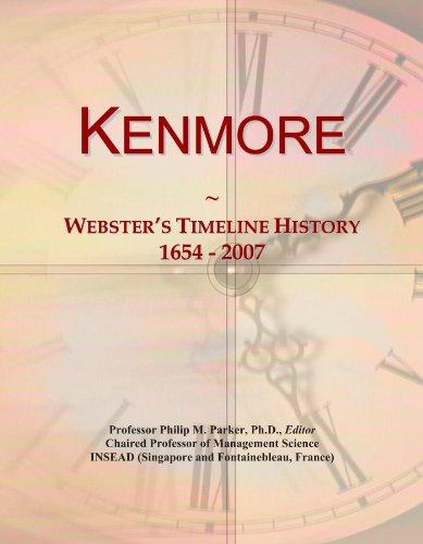 kenmore-websters-timeline-history-1654-2007