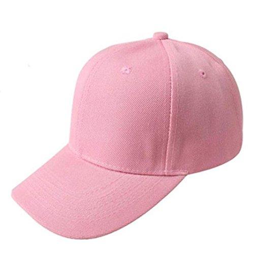 Internet Unisex Cappellini da baseball Tela cappello registrabile (Rosa)
