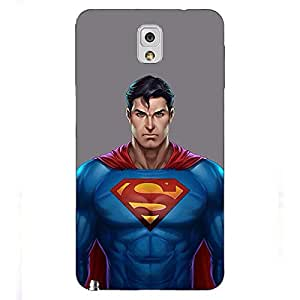 Jugaaduu Superheroes Superman Back Cover Case For Samsung Galaxy Note 3 N9000