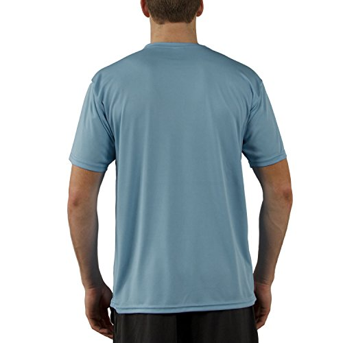 Vapor Apparel Men's Solar Performance UPF Short Sleeve T-Shirt XXX-Large Hydro