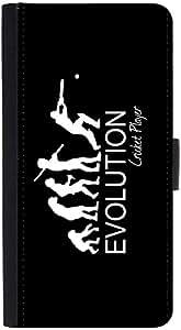 Snoogg Evolution Of Cricket Designer Protective Flip Case Cover For Htc M8