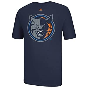 Buy adidas Charlotte Bobcats Resonate Over T-Shirt - Navy Blue by adidas