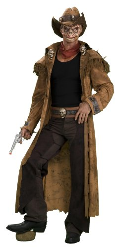 Scary Zombie Western Gunslinger Cowboy Costume Adult